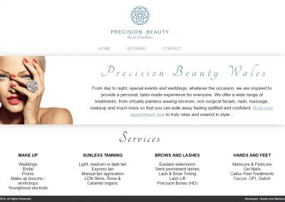 Precision Beauty Website