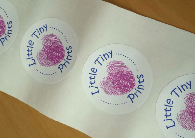 Product packaging – Little Tiny Prints