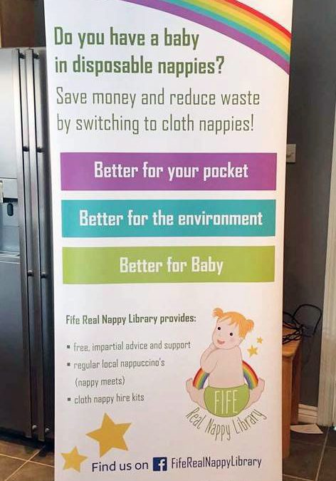 Roller Banner – Fife Real Nappy Library