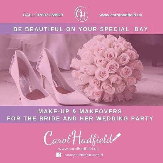Social Media Advert – Carol Hadfield MUA