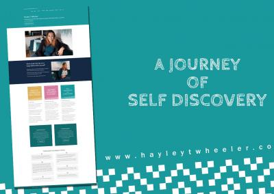 Website Design – Hayley T Wheeler