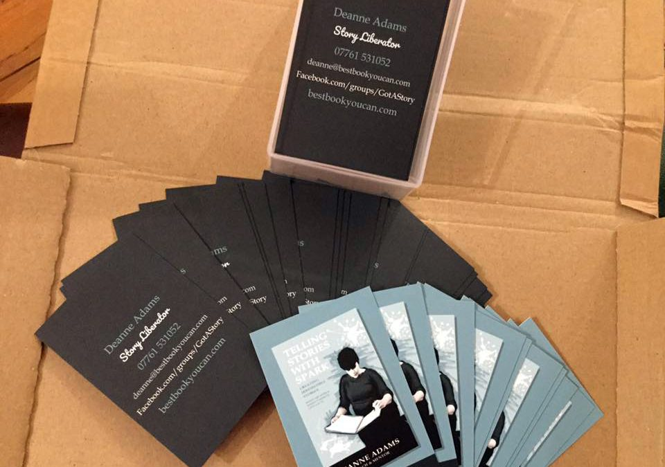 Business Cards – Deanne Adams