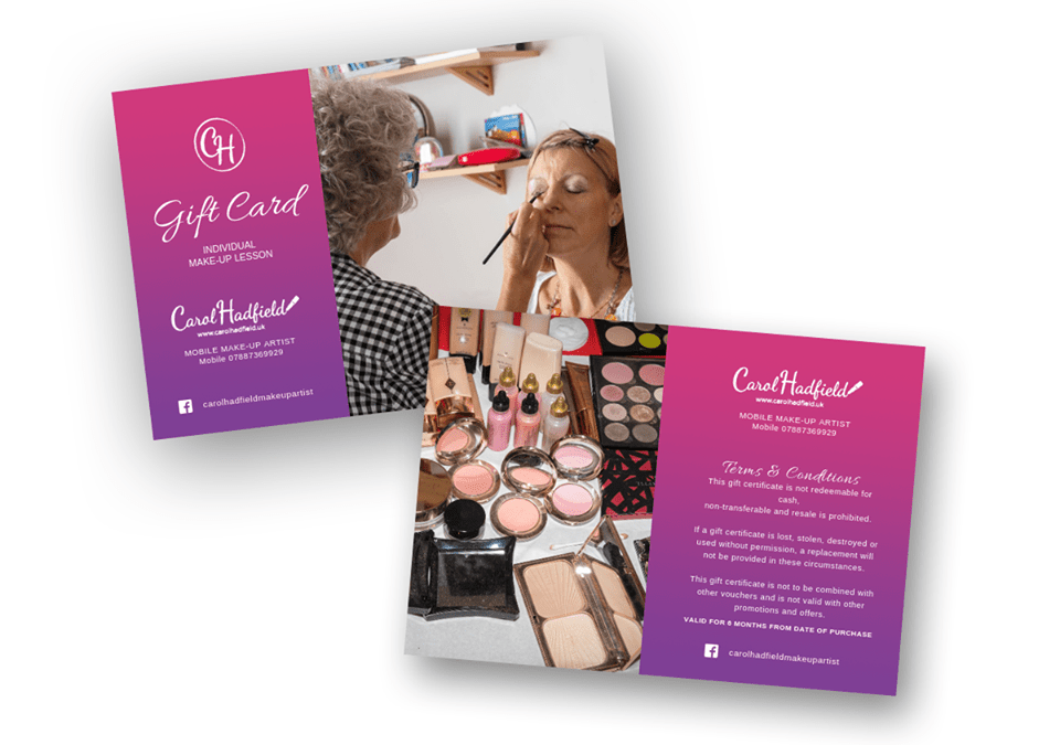 Gift Cards – Carol Hadfield MUA