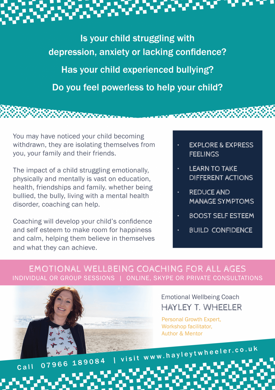 Flyer – Hayley T Wheeler