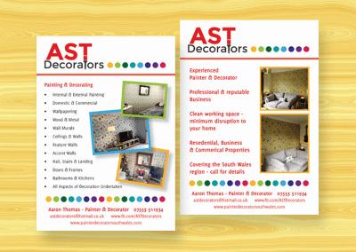 Flyer design – AST Decorators