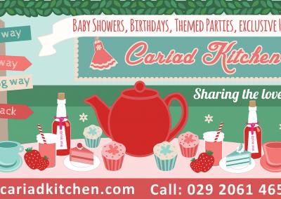 Large banner – Cariad Kitchen
