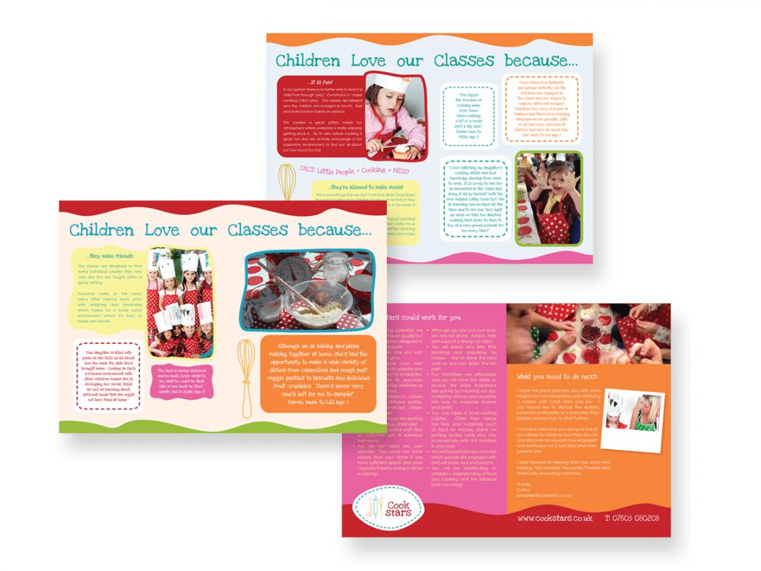Brochure design – Cook Stars