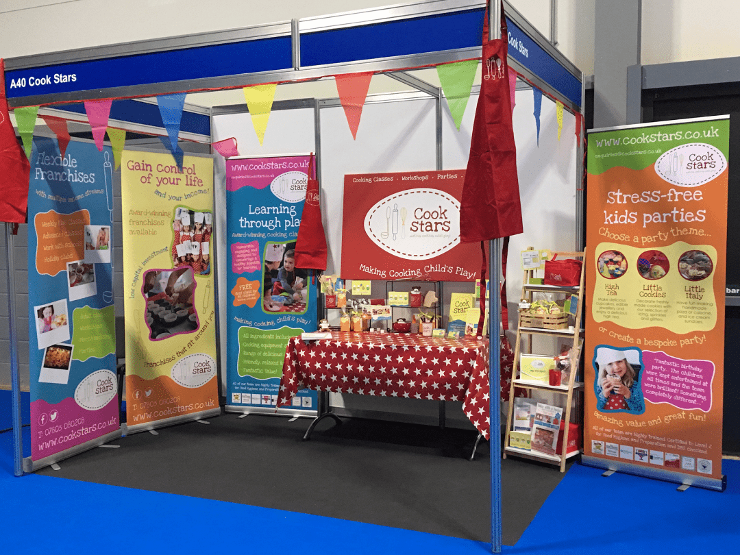 Exhibition Stand – Cook Stars