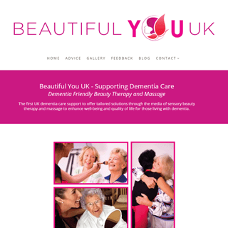 Website design – Beautiful You UK
